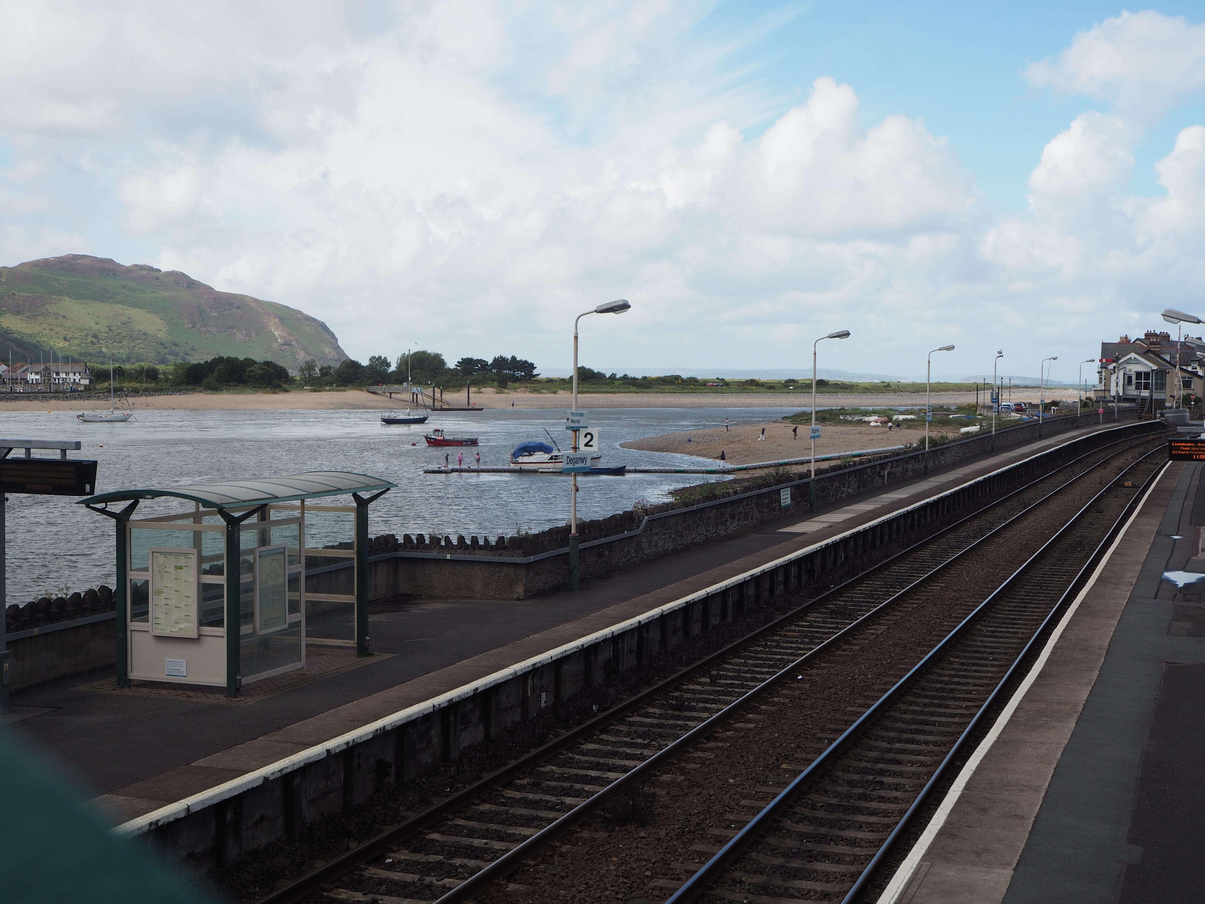Deganwy Station, Conwy Valley Railway