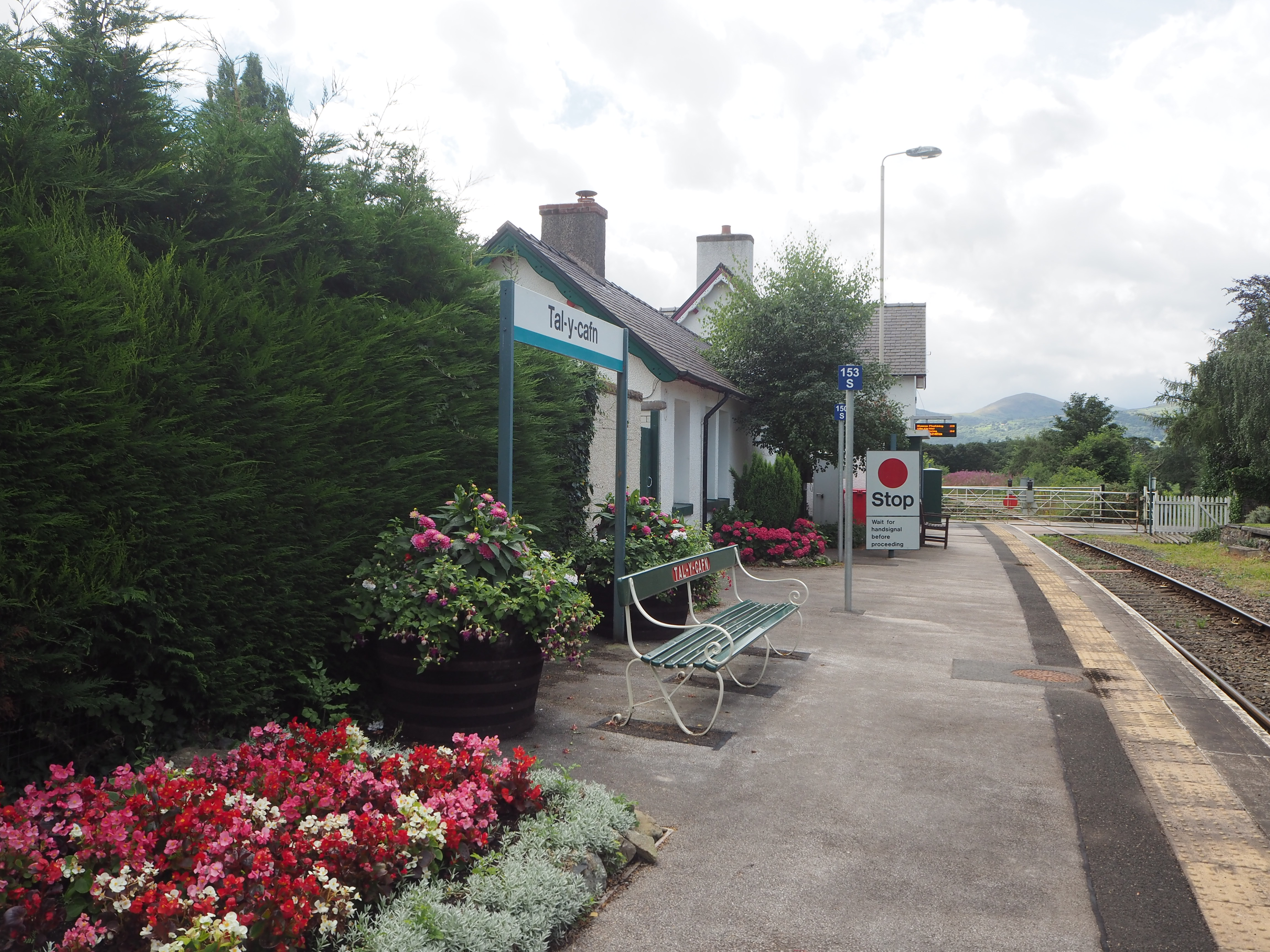 Tal y Cafn Station, Conwy Valley Railway