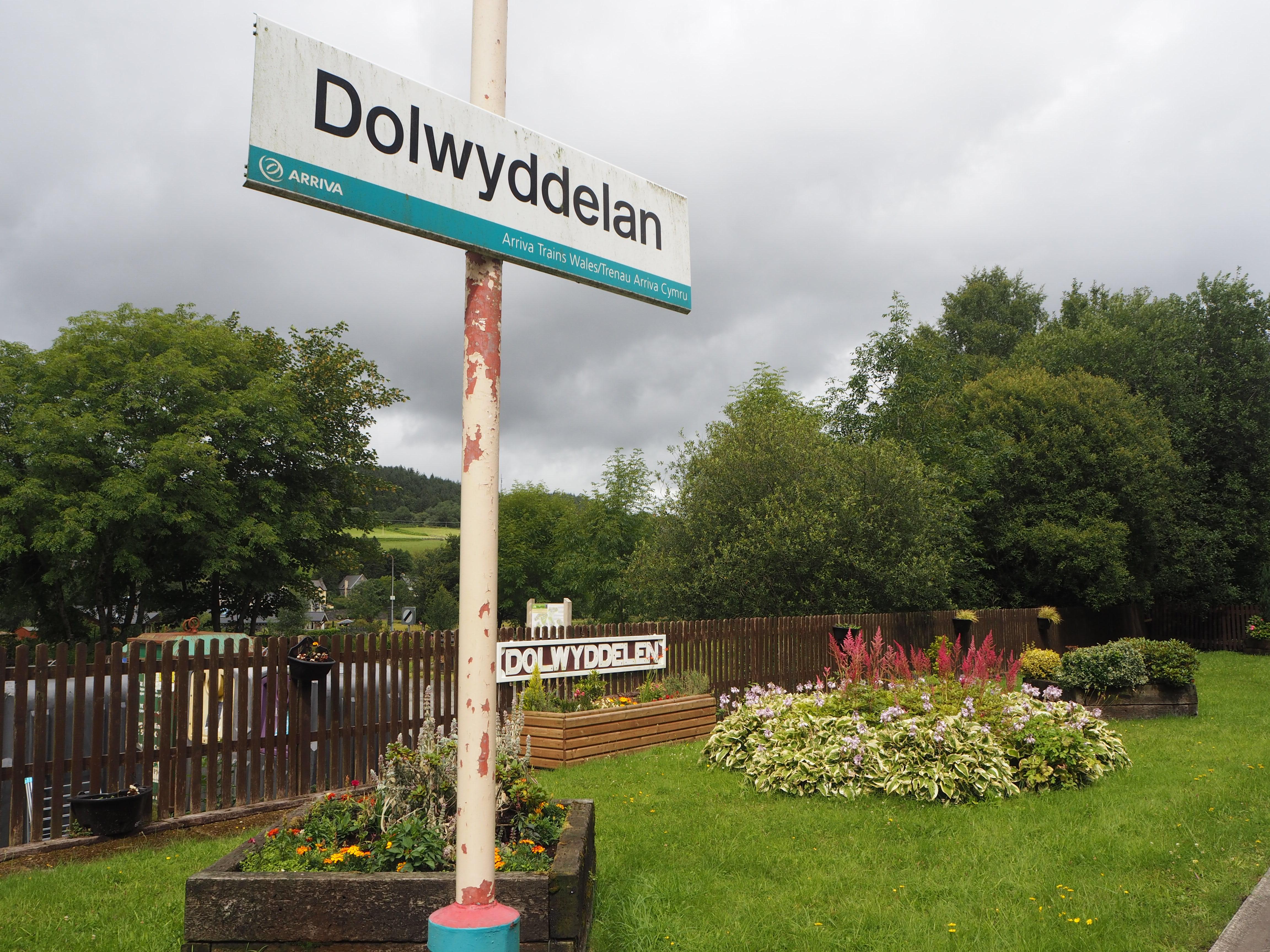 Dolwyddelan Station, Conwy Valley Railwy