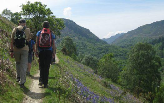Dolwyddelan walk Conwy