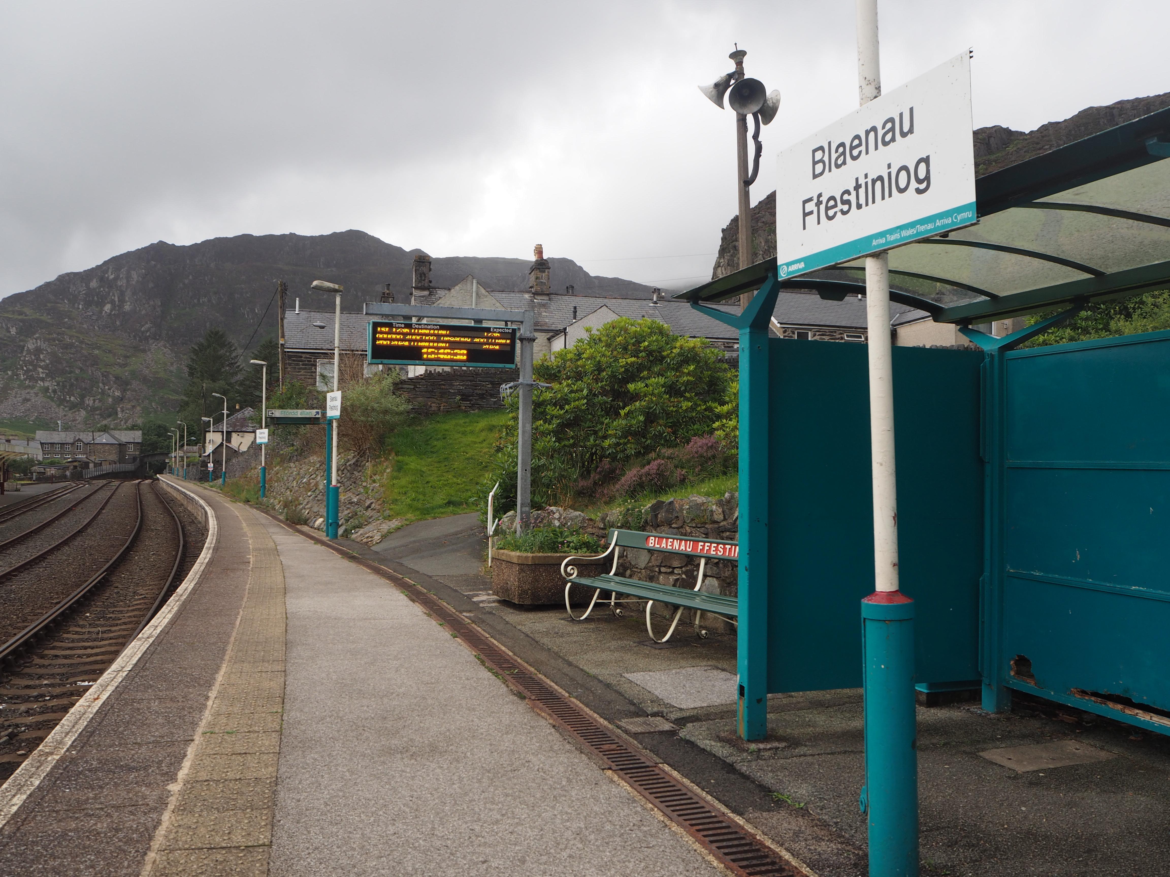 Blaenau Ffestiniog Station, Conwy Valley Railway
