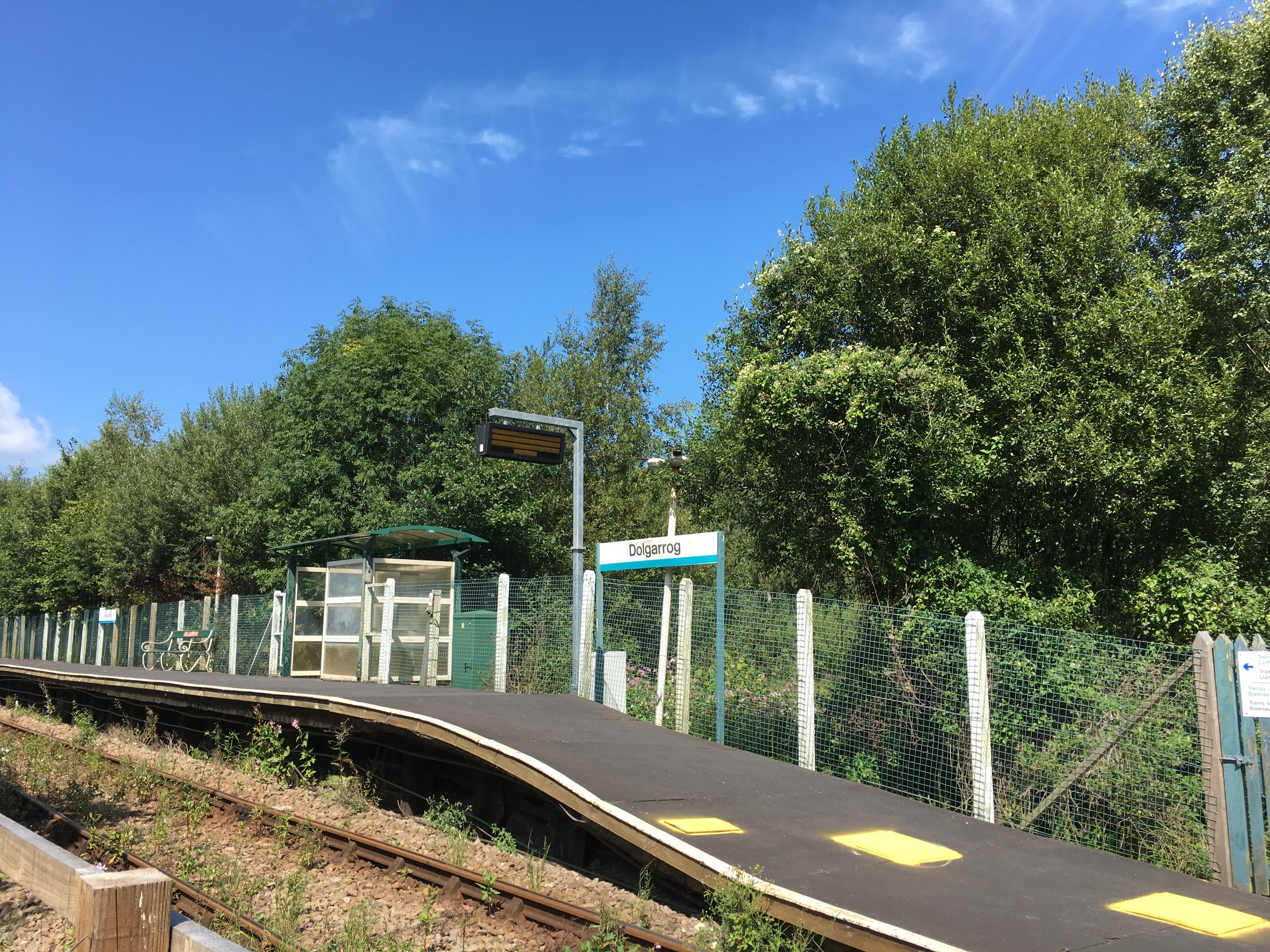 Dolgarrog Station, Conwy Valley Railway